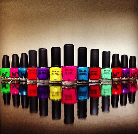Vernis BYS et LOL: des couleurs flashy pour toutes vos envies !