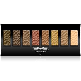 Palette 8 fards à paupières Studio BYS Maquillage