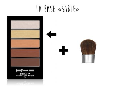 Base ombres à paupières BYS Maquillage 2