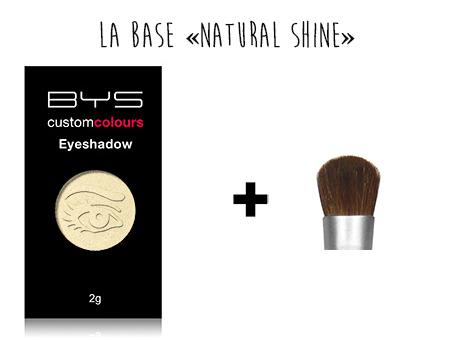 Base ombres à paupières BYS Maquillage