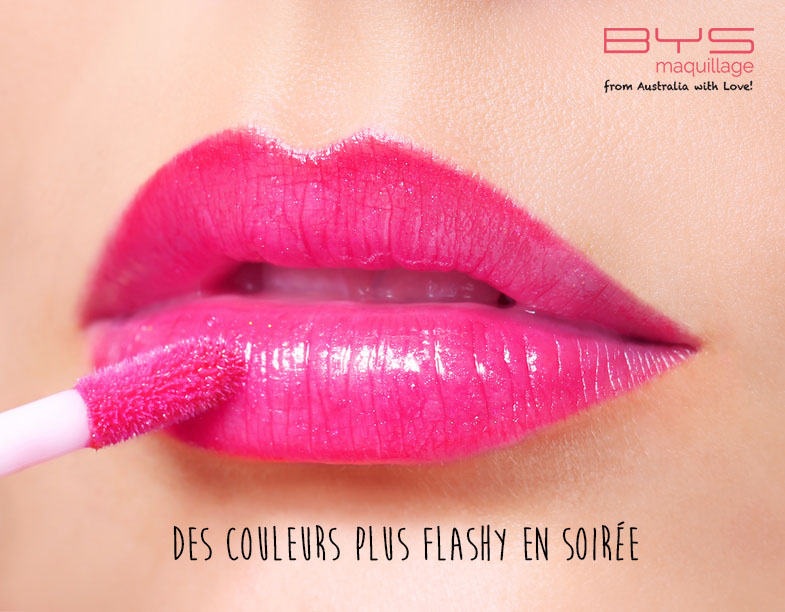 Gloss flashy BYS Maquillage