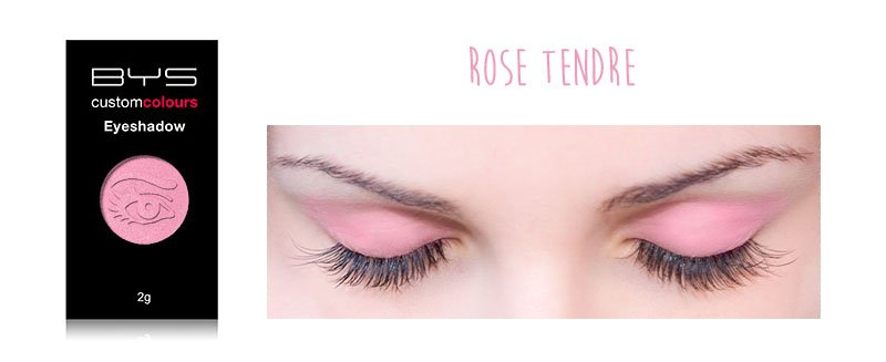Maquillage BYS Ombre Mono Rose tendre