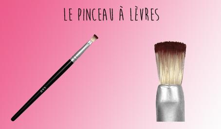 Pinceau à lèvres BYS Maquillage