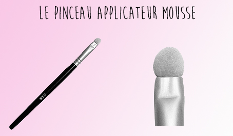 Pinceau applicateur mousse BYS Maquillage