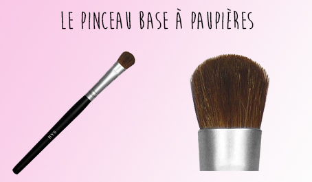 Pinceau base paupières BYS Maquillage