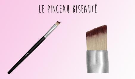 Pinceau biseauté BYS Maquillage