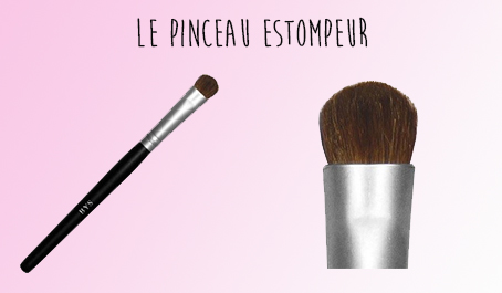 Pinceau estompeur BYS Maquillage