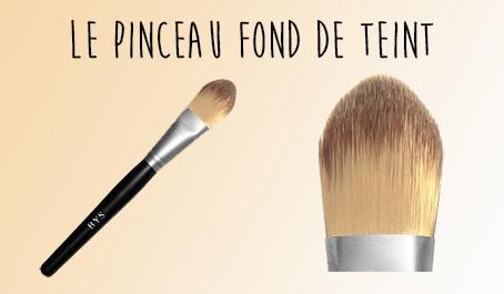 Pinceau fond de teint BYS Maquillage
