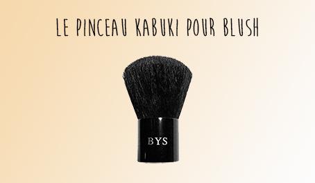 Pinceau kabuki pour blush BYS