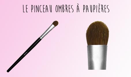 Pinceau ombres à paupières BYS Maquillage