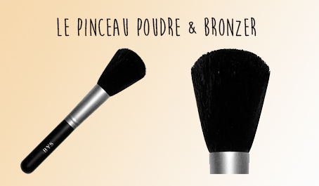 Pinceau poudre & bronzer BYS