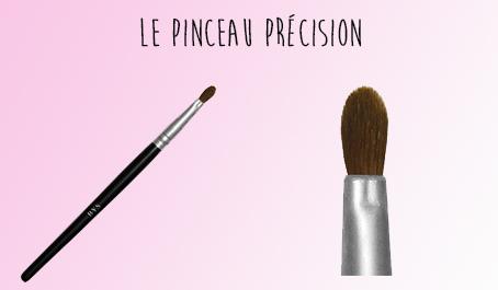 Pinceau précision BYS Maquillage