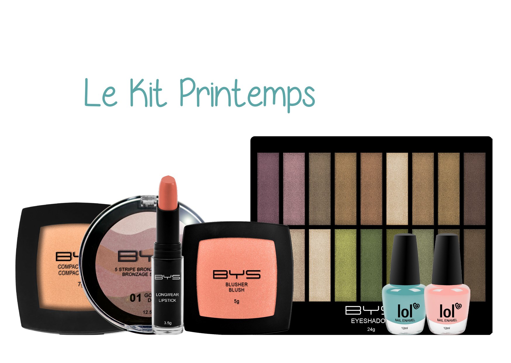 Kit printemps BYS Maquillage