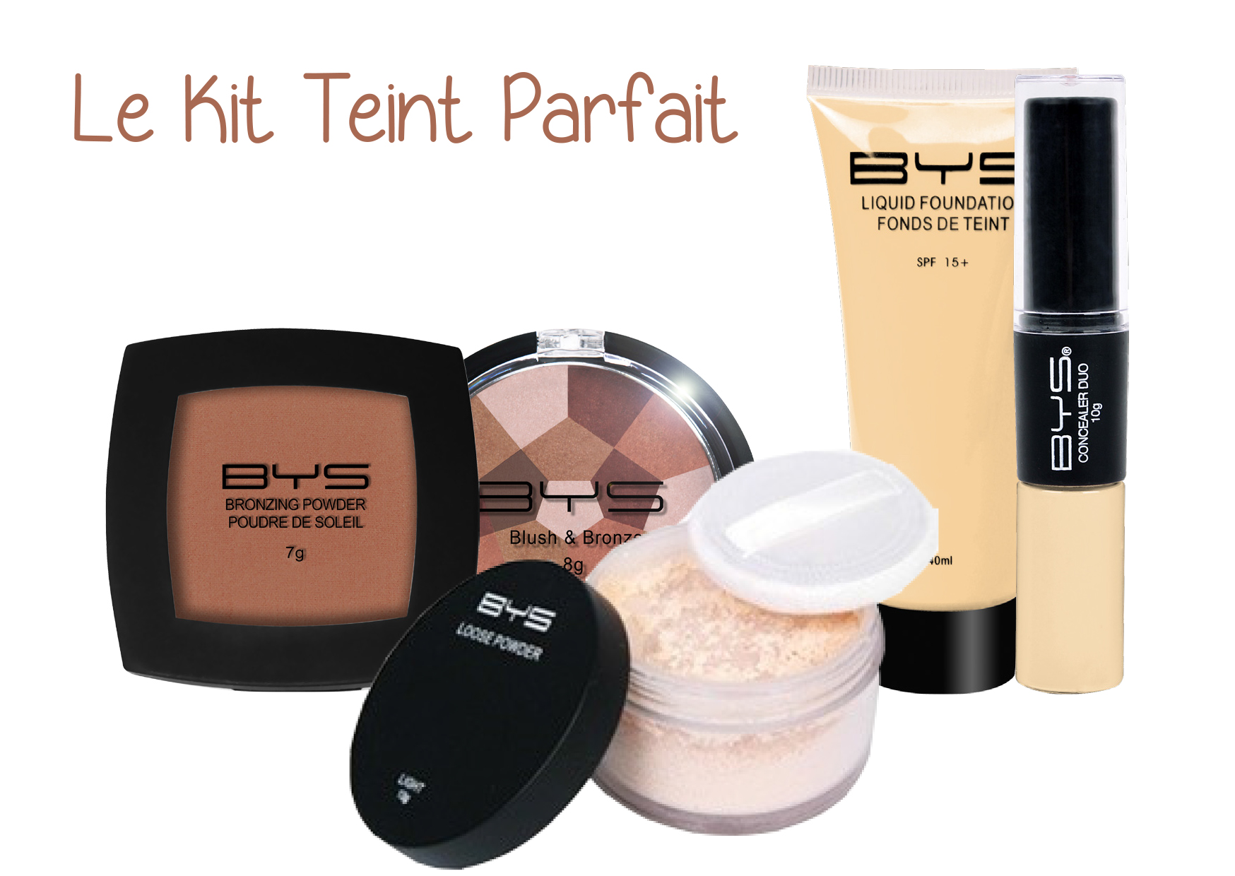 Kit teint parfait BYS Maquillage