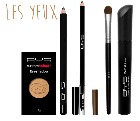 Maquillage des yeux BYS Maquillage