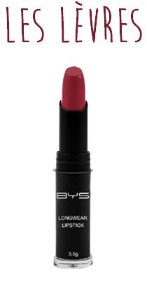 Rouge à lèvres BYS Maquillage