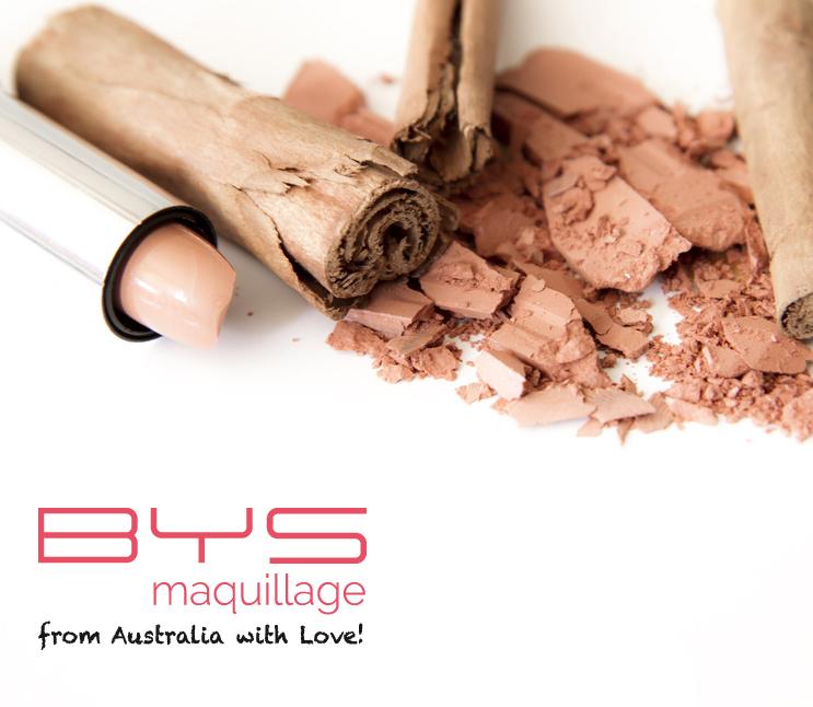 Astuces maquillage cassé BYS Maquillage : poudre de teint, mascara, blush, fard à paupières, rouge à lèvres, vernis à ongles
