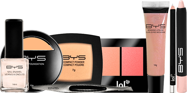 Kit Nude Maquillage pas cher BYS Maquillage