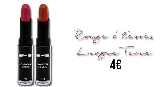 Rouge à lèvres Longue tenue BYS