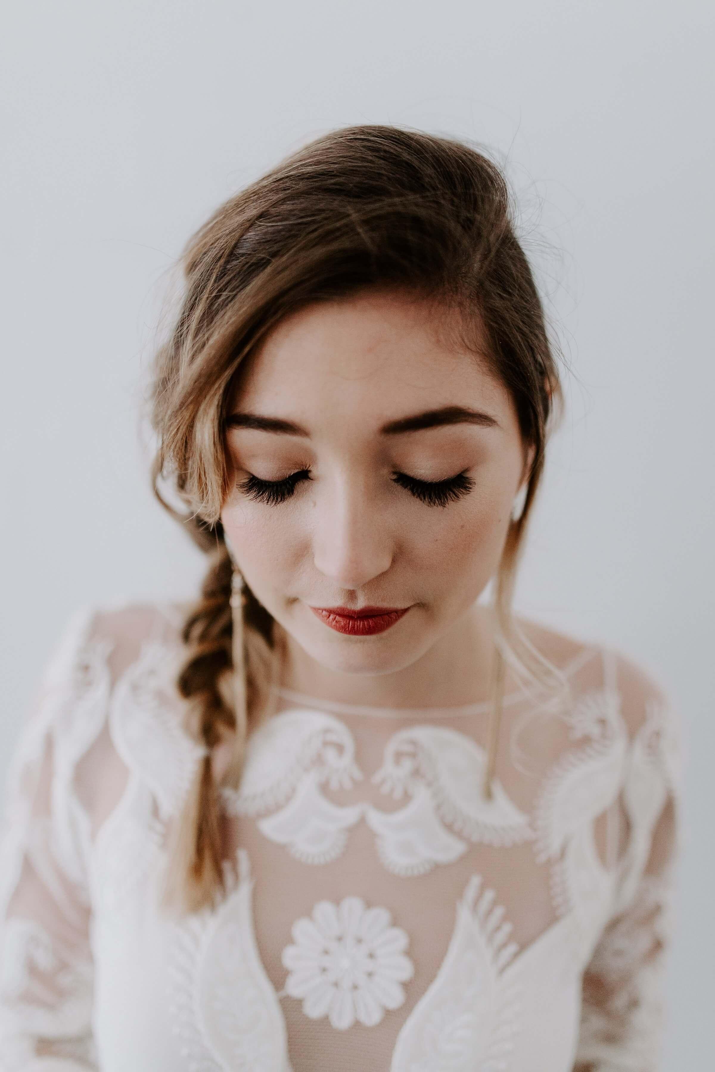 Idées make,up pour un mariage champêtre